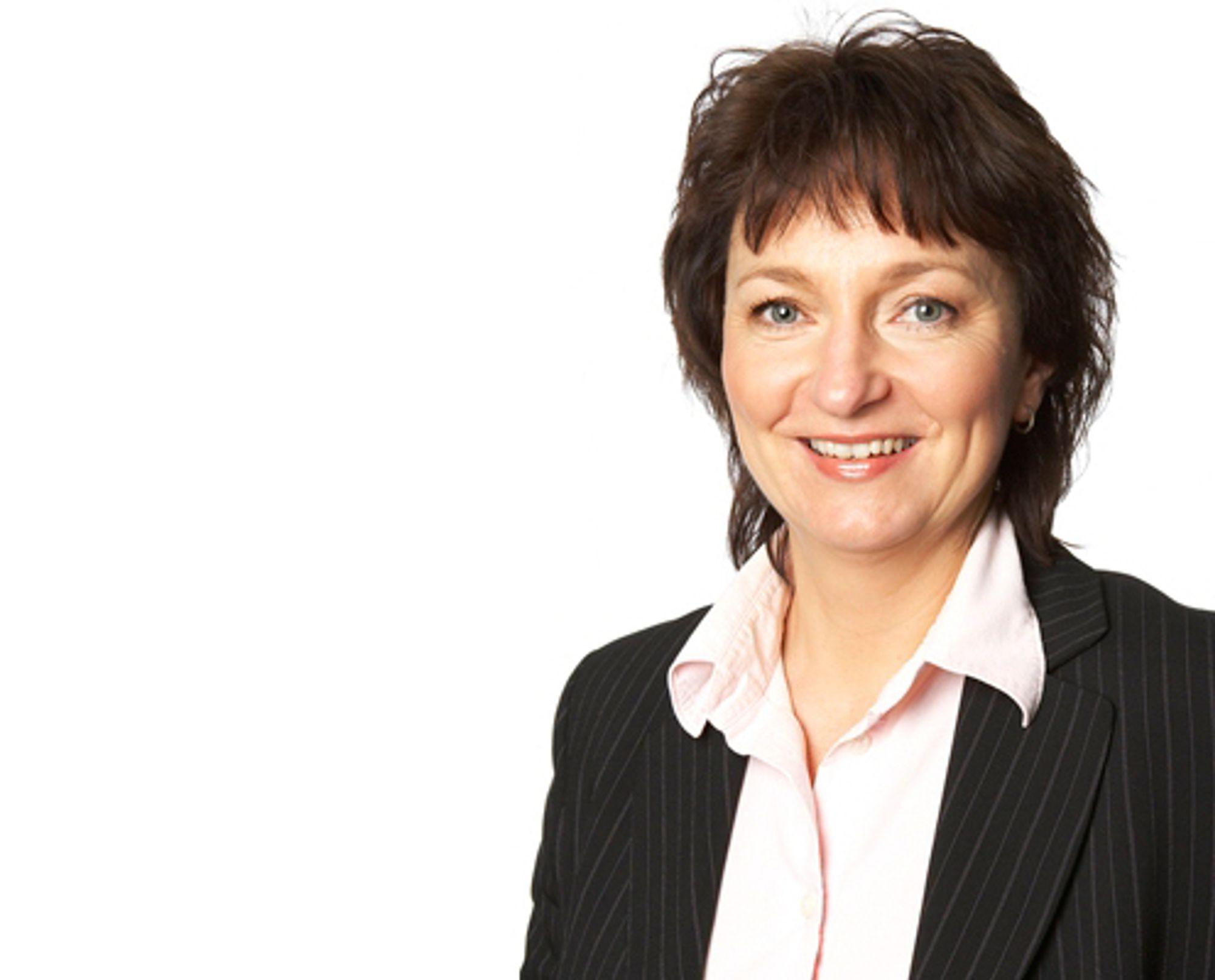 FÅR JOBBEN: Inger-Lise M. Nøstvik tar over som generalsekretær i NP, etter å ha vært konstituert i stillingen i tre år.