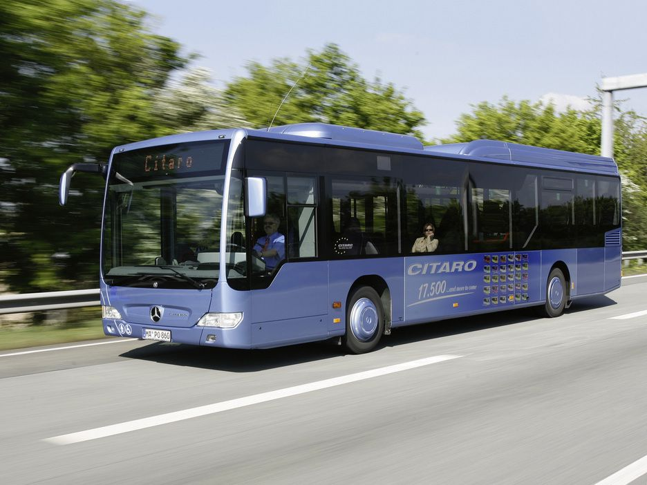 Hybridbussen en milj vinner for Hotels by mercedes benz superdome