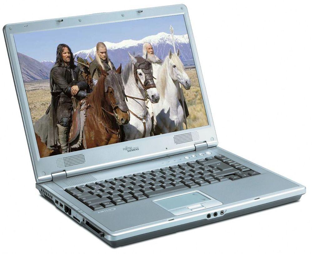 Batteriene i laptopene til Fujitsu-Siemens imponerer ikke.