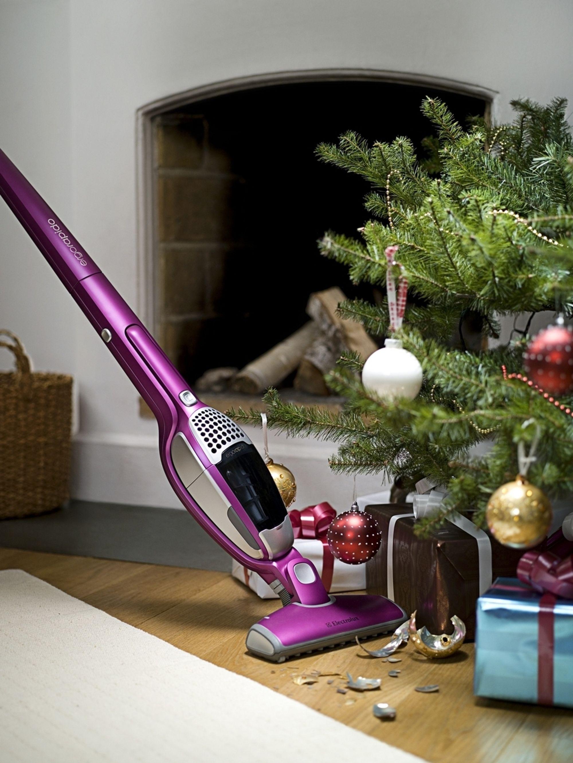 UUNVÆRLIG: Ergorapido er et lite teknisk vidunder som kan redde den mest kaotiske jul med knuste glasskuler på juletreet og brødsmuler ut over halve kjøkkenet.