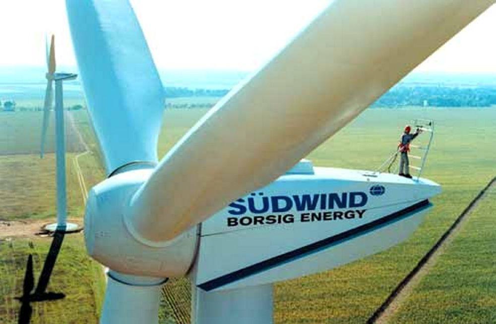 VOKSER SEG STOR: Vindkraft er blitt større enn vannkraft i Tyskland. Spesielt de siste par årene har veksten vært enorm.  FOTO: BUNDESVERBAND WINDENERGI e.V.