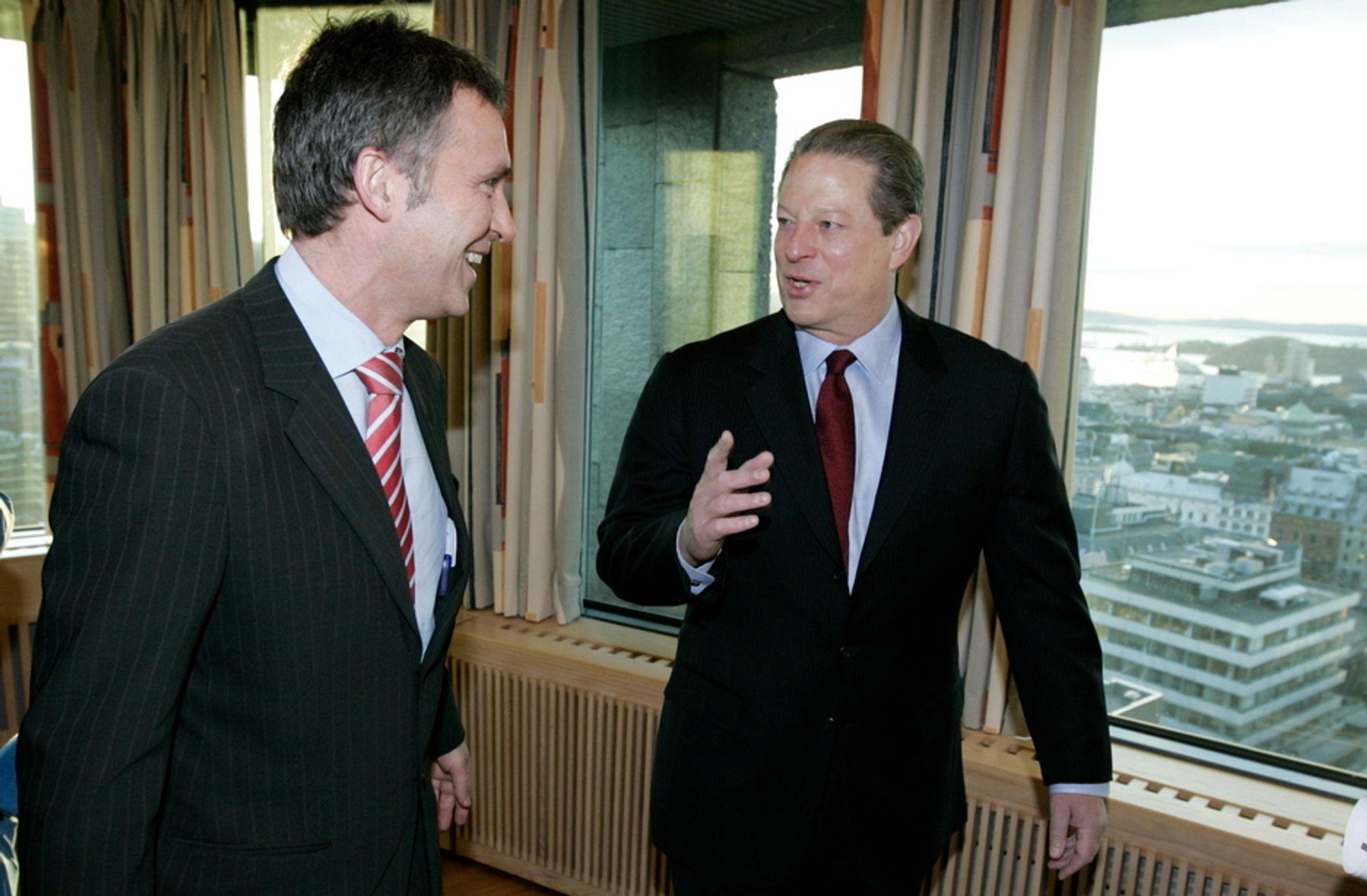 HAR SNUDD: Han var skeptisk før, men nå har fredsprisvinner Al Gore mer tro på CO2-håndtering som et virkemiddel mot klimautslipp.