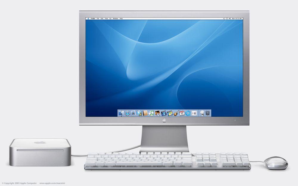 Plug and play. PC-brukere kan plugge inn sitt tastatur og sin mus og så er de i gang. Foto: Apple