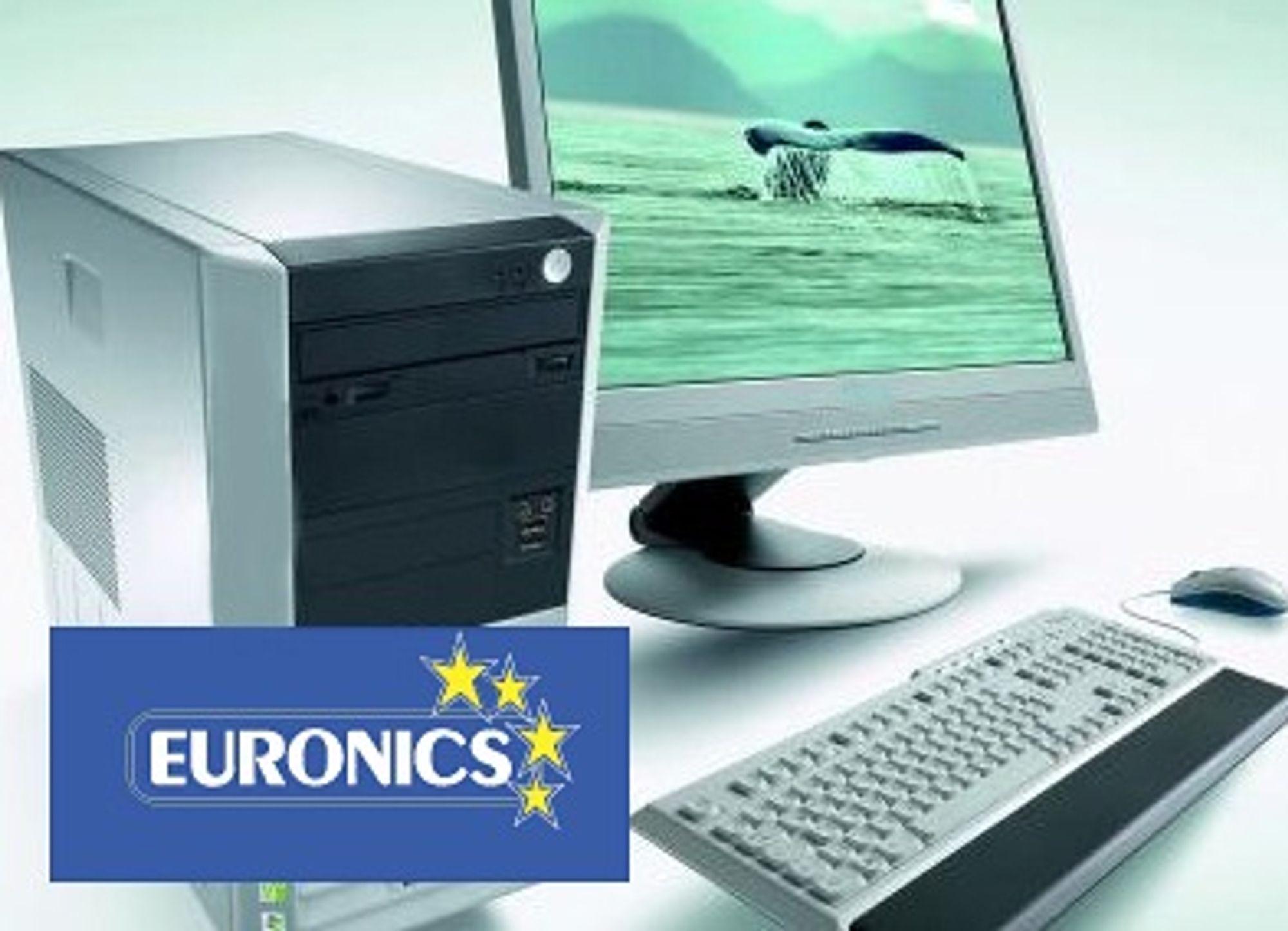 UTVIDER: Euronics skal lansere en netthandelsløsning i god tid før julehandelen.  (M) Fotomontasje