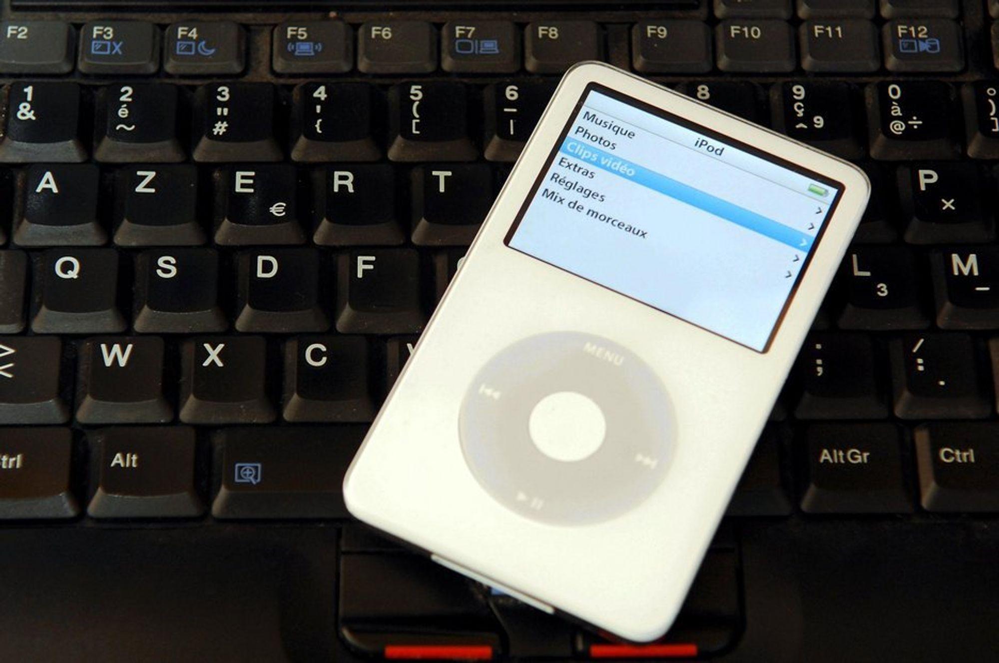 iPod. Mp3. Mp3-låter. Apple. Digital musikk. Komprimering. Data. IT. Musikk. Forbrukerelektronikk.
