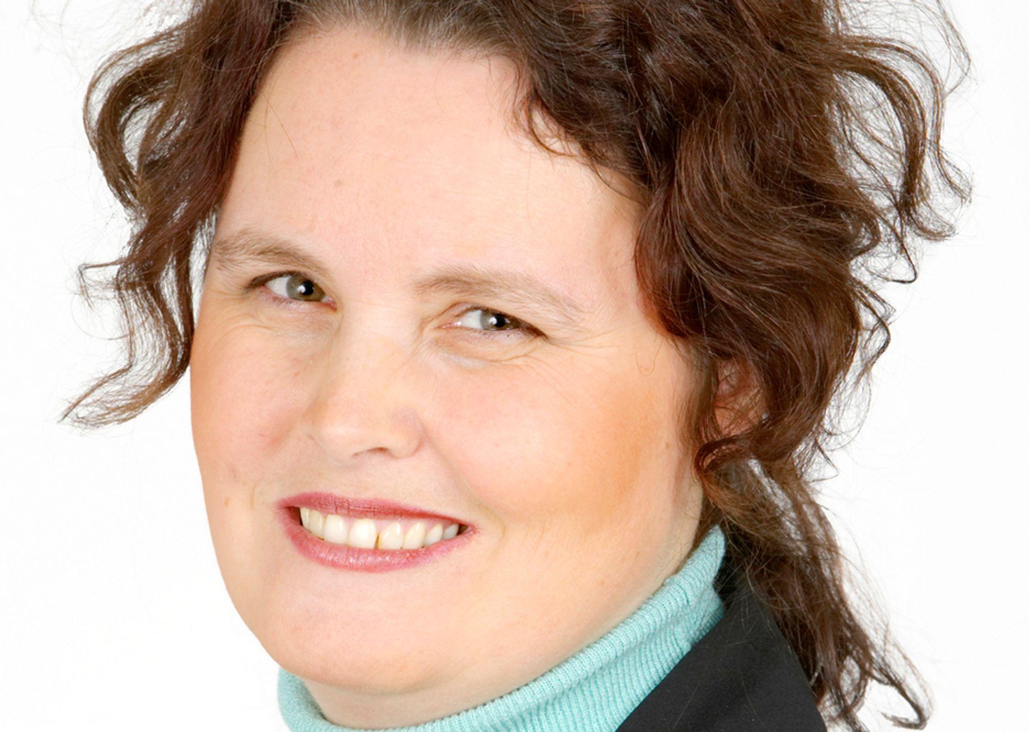 NEI: Næringsminister Sylvia Brustad måtte avkrefte atomkraftplaner i Stortingets spørretime.