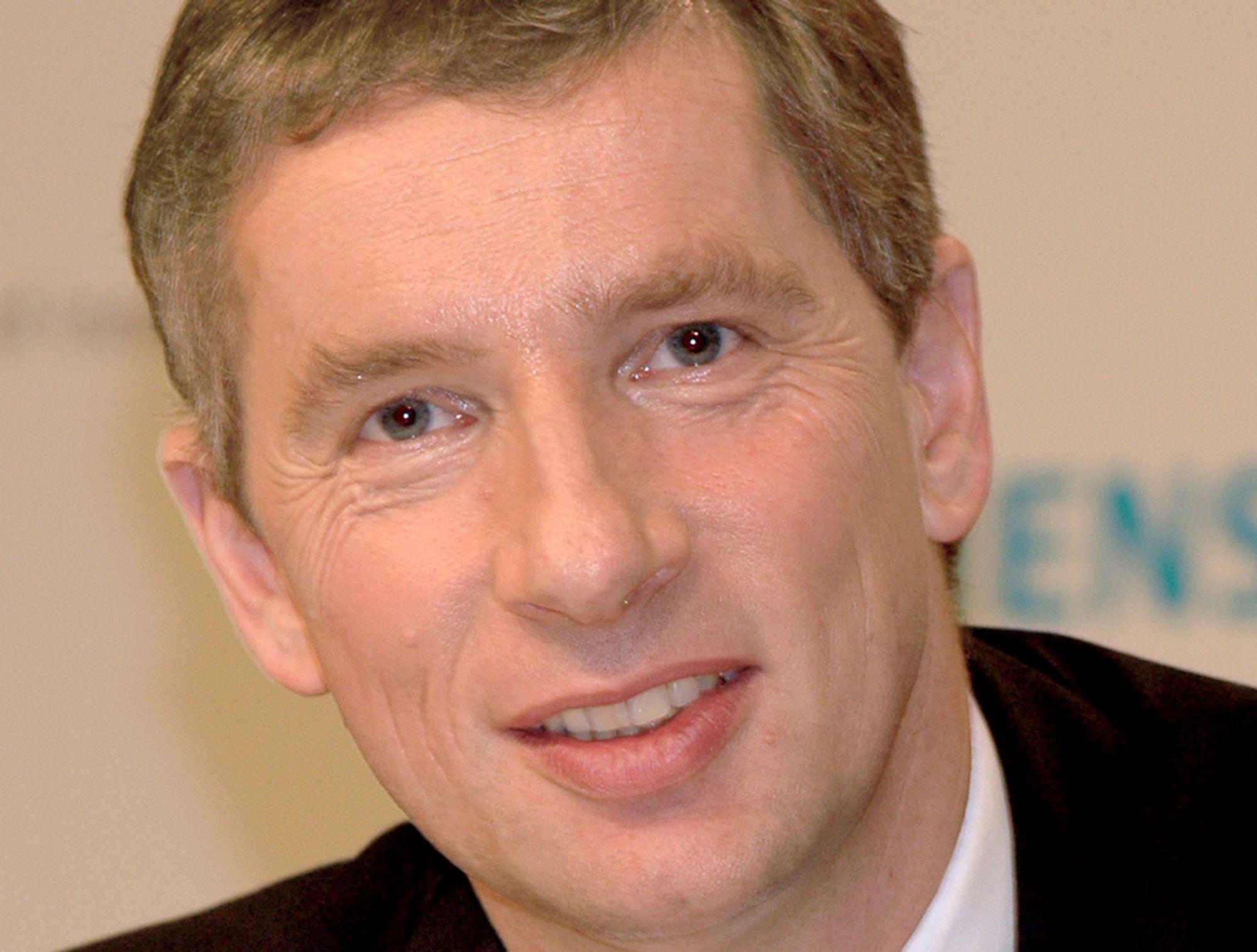 KORT BESØK: Klaus Kleinfelt ble konsernsjef i Siemens AG i kun to år.