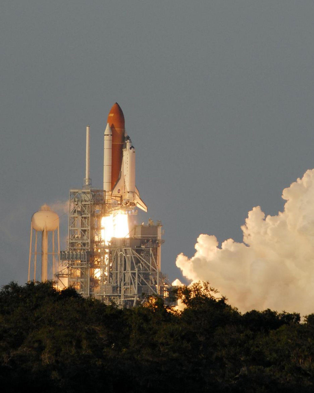 Romfergen Atlantis skal ta med seg EUs romlab til Den internasjonale romstasjonen.