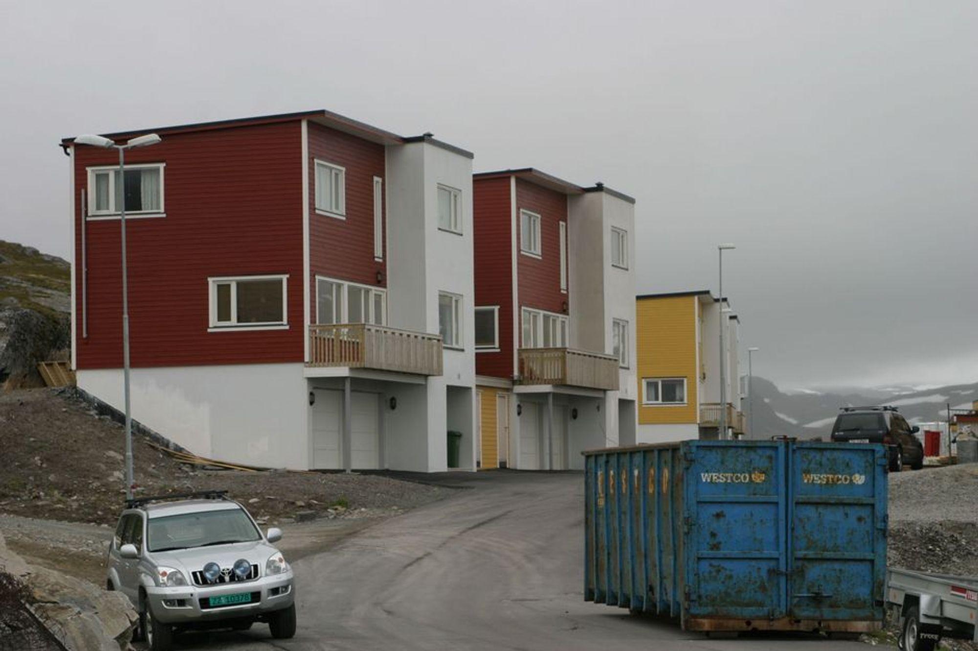 Illustrasjons bilde av nybygg i Hammerfest.