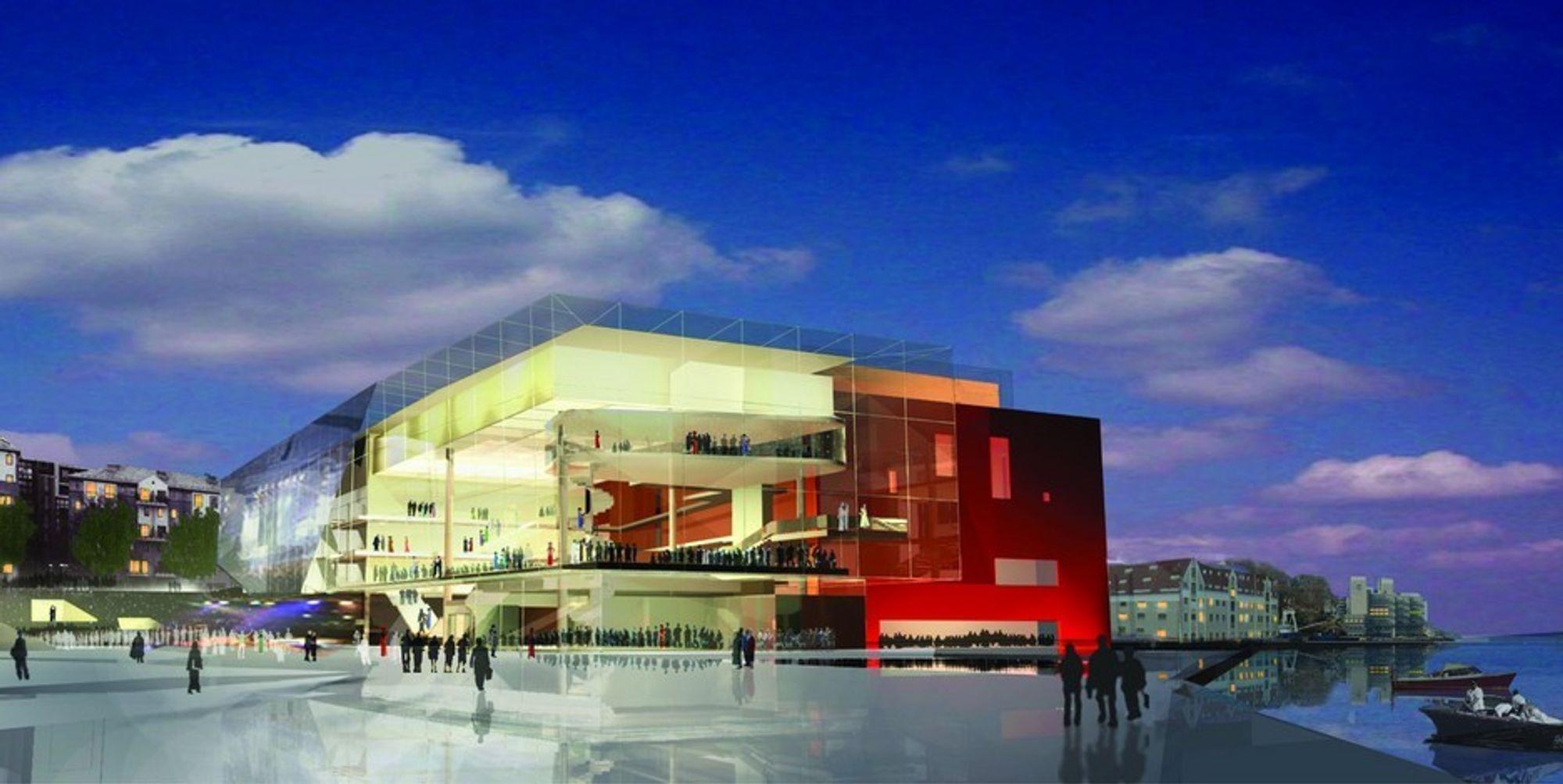 KULTURBYGG: Nytt konserthus i Stavanger tilgodesees med 20 millioner kroner fra kulturminister Trond Giske.