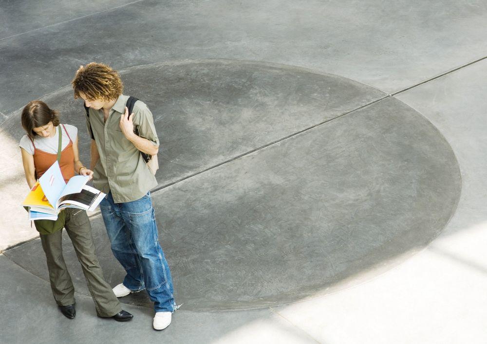 Arkitektstudenter testes (illustrasjonsbilde).
