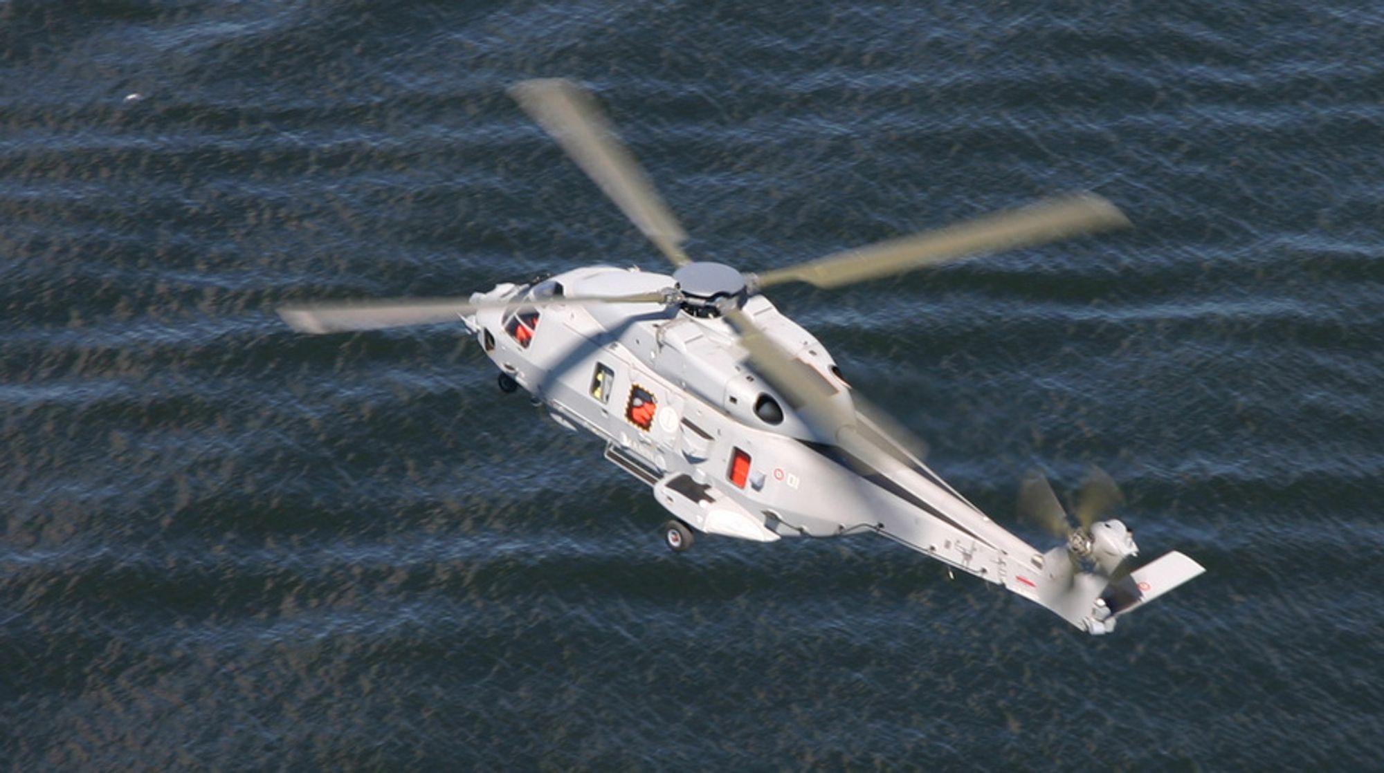 NH90 er helikopteret tilpasset de nye spanskbygde fregattene. Det er utstyrt med ny sensorteknologi og er historiens første fly-by-wire (datakontrollert styring) helikopter. Dette ble forkastet som nytt redningshelikopter.