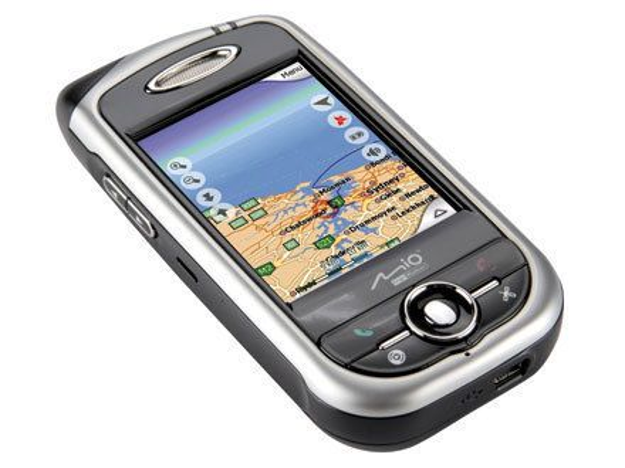 Mia A701 - mobiltelefon med blant annet GPS.