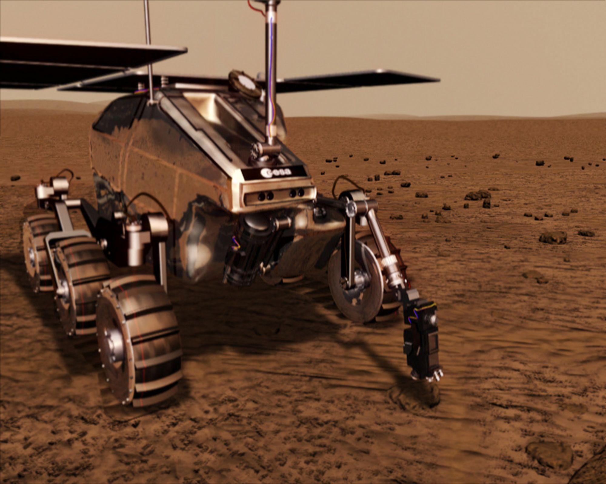 ESA presser på for pris på Mars-rover