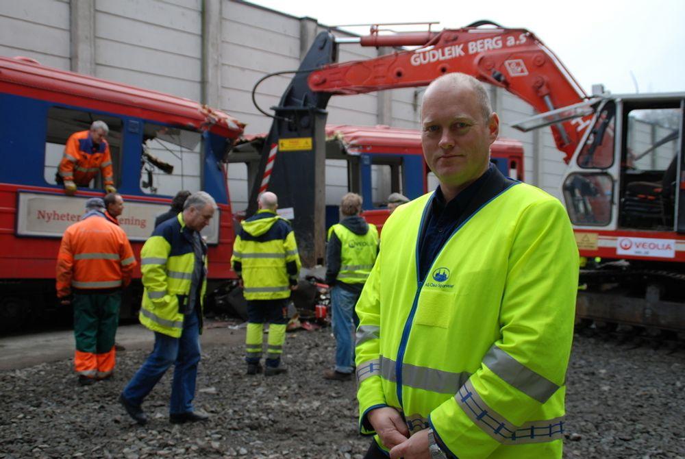 VIL HA MER: Administrerende direktør i Oslo T-banedrift, Øystein Svendsen, håper politikerne vil se behovet for enda flere vogner i Oslos t-banenett.