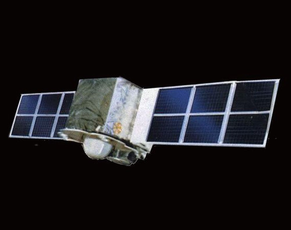 FORSØKSKANIN: Satellitten Feng Yun 1C har vært i rommet siden 1999. Etter 11. januar har ingen hørt fra den. Amerikanerne tror kineserne har skutt den ned for å teste et våpen.