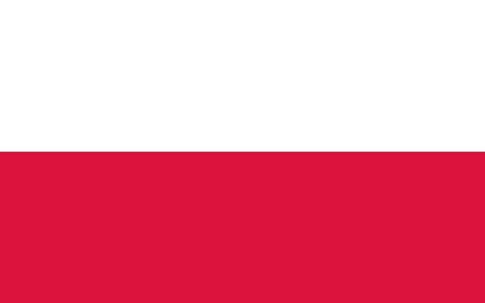 Det polske flagget.