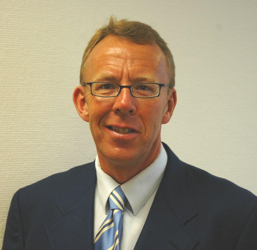 BLIR GRØNN: Nå skal han bli grønn med fornuftig bruk av IT. Per Morten Hoff i IKT Norge leder an.