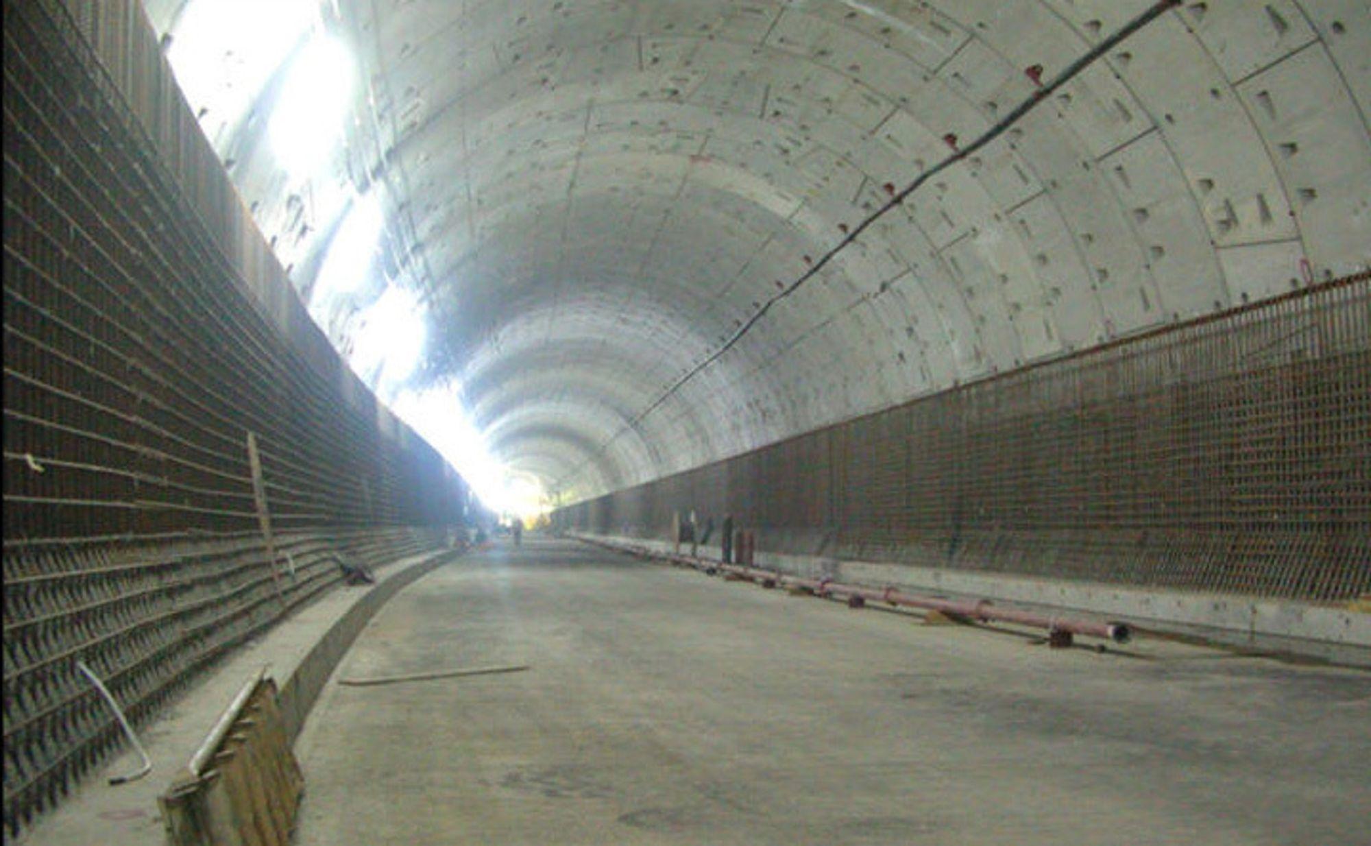 Smart-tunnelen i Kuala Lumpur fungerer også som flomavlasting ved behov.
