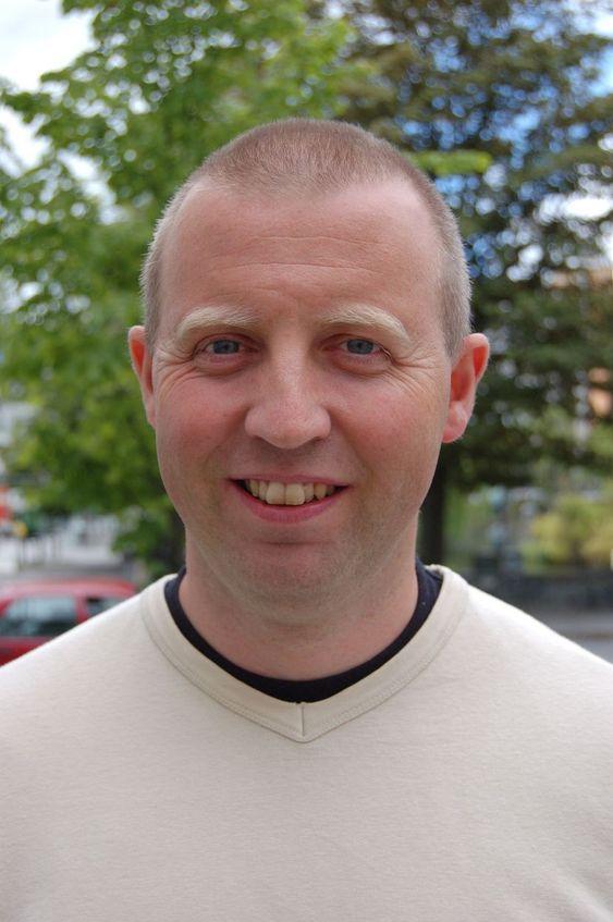 BEKYMRET: Faglig politisk leder i Industri Energi, Frode Alfheim, deler bekymringen med Kjell Skjeggerud i Norcem.