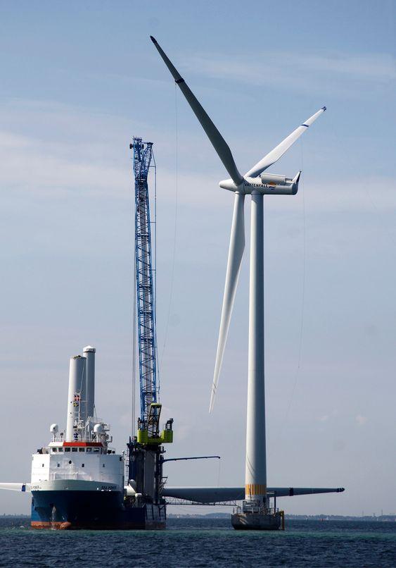 Siemens i Danmark leverer de 48 vindturbinene til Lillegrund.