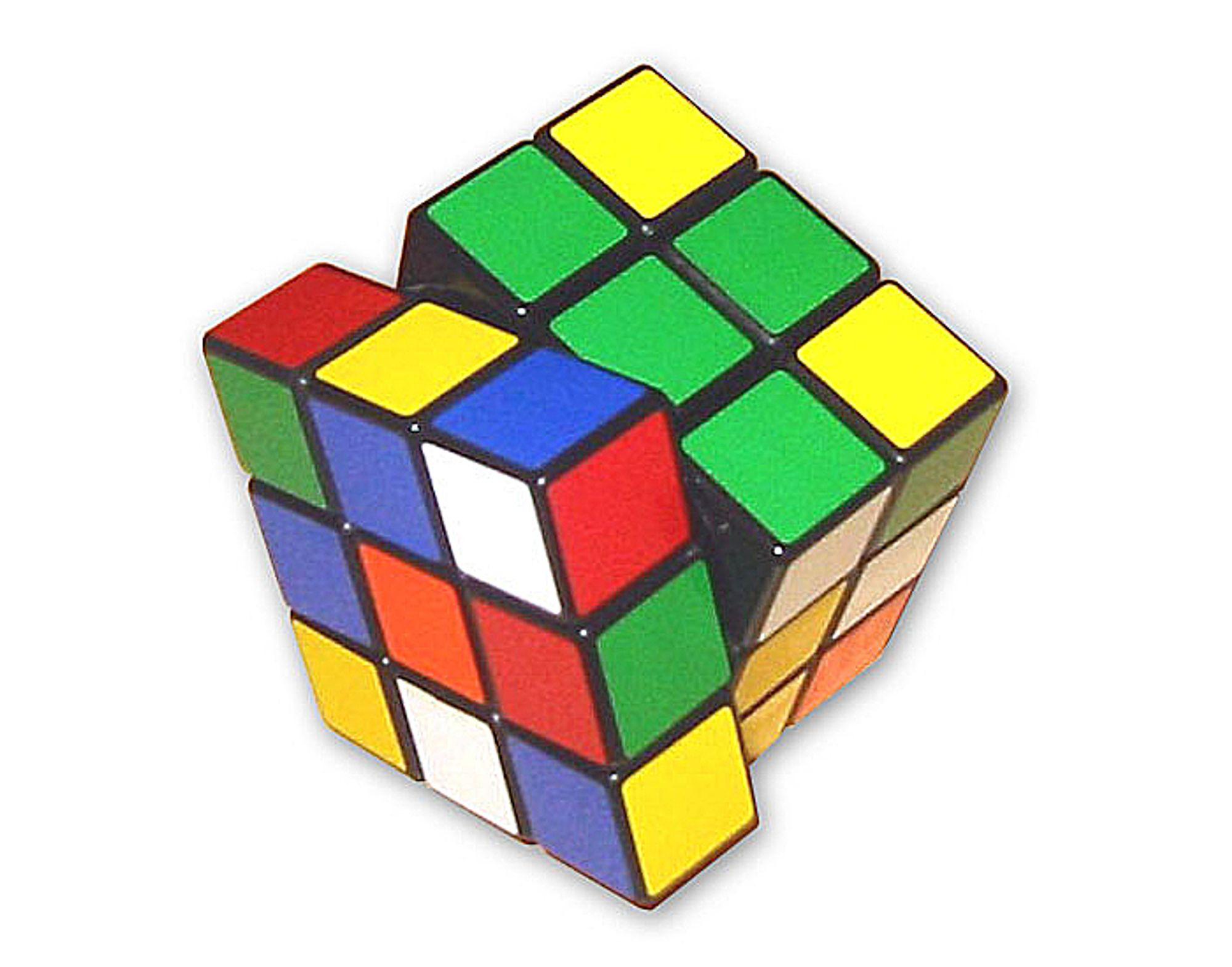 Hvor mange rotasjoner trenger du for å løse Rubiks kube?