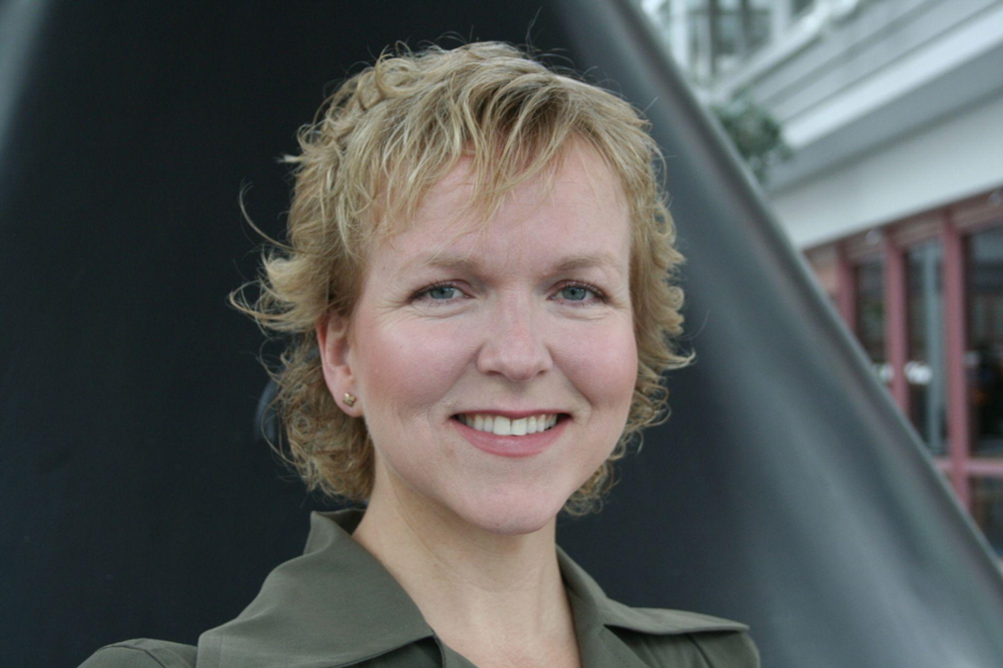 HØYT NIVÅ: Jobbsøknadene vi får, er av overraskende god kvalitet, sier Ingrid Sanne i IBM.