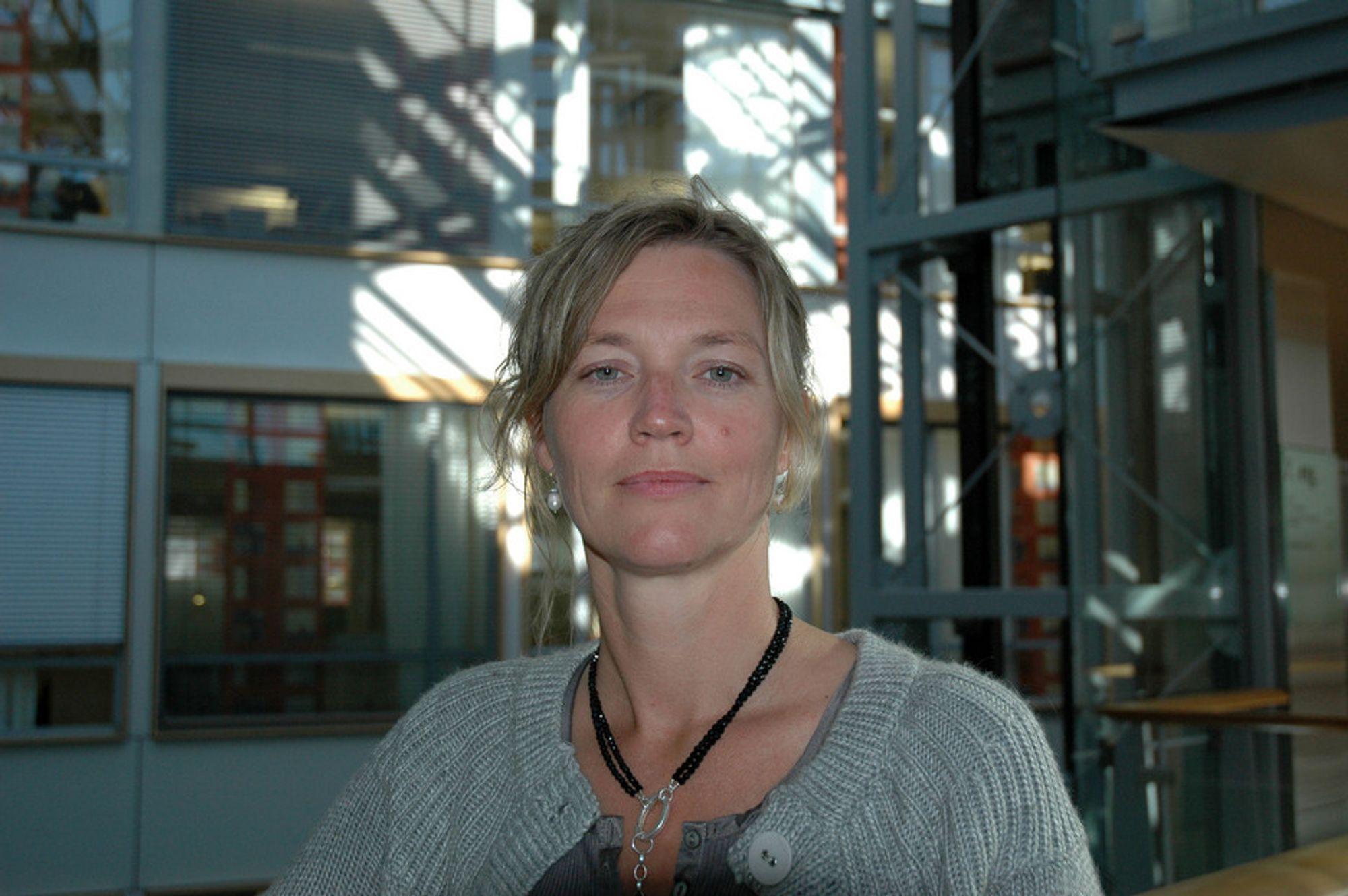 TØFT: NHO-advokat Nina Melsom opplevde trusler.