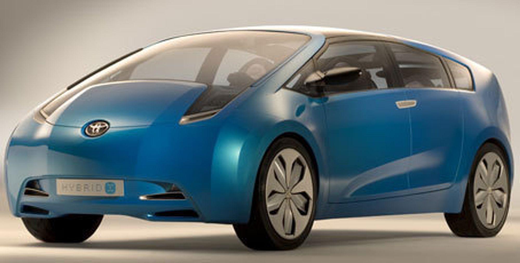Toyota med diesel-hybrid