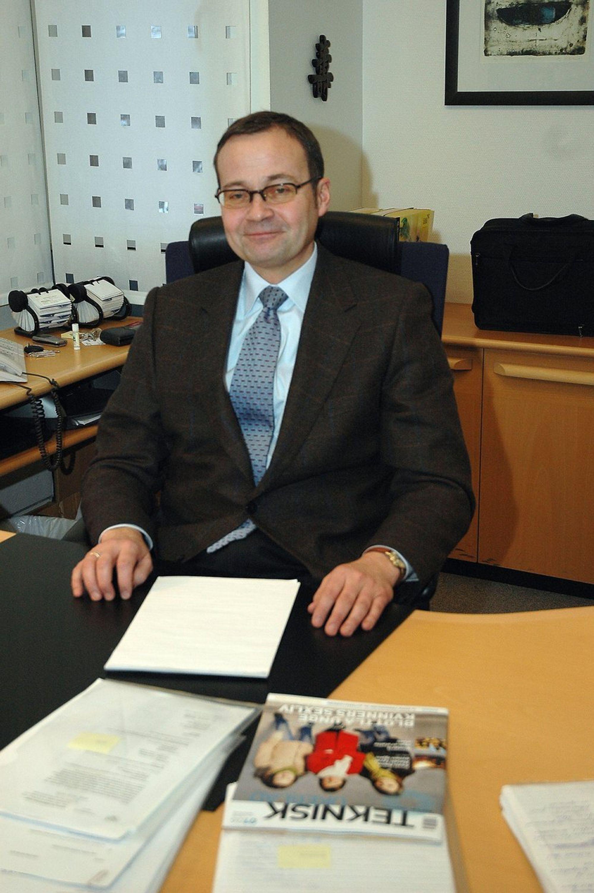 RASMUS SUNDE Adm. direktør i Vetco Aibel og styreleder i Norsk Industri.Tidligere adm. diektør i ABB Offshore Systems.