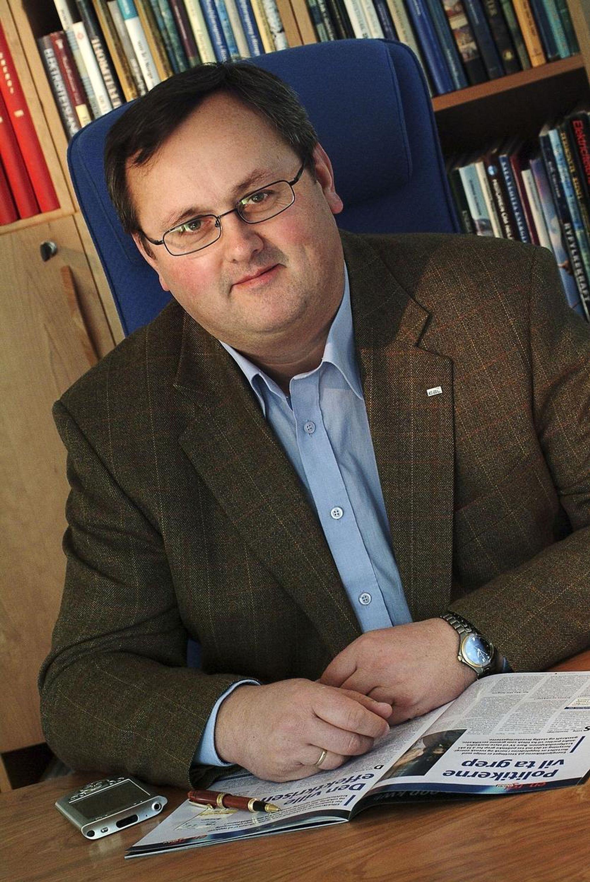 Steinar Bysveen, adm. direkør i EBL
