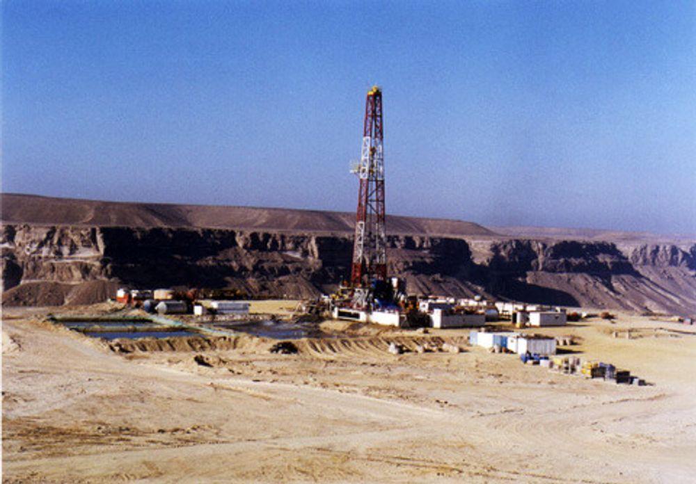 IRAK: Norske DNO skal sette i gang oljeproduksjon i Irak, men nå frykter obligasjonseiere at selskapet rakner. Dette bildet er fra en av selskapets installasjoner i Yemen.