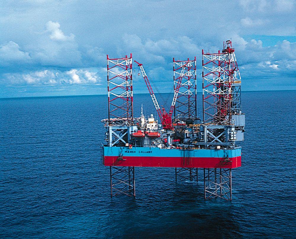 Maersk Gallant fant gass og kondensat nær Ekofiskfeltet.