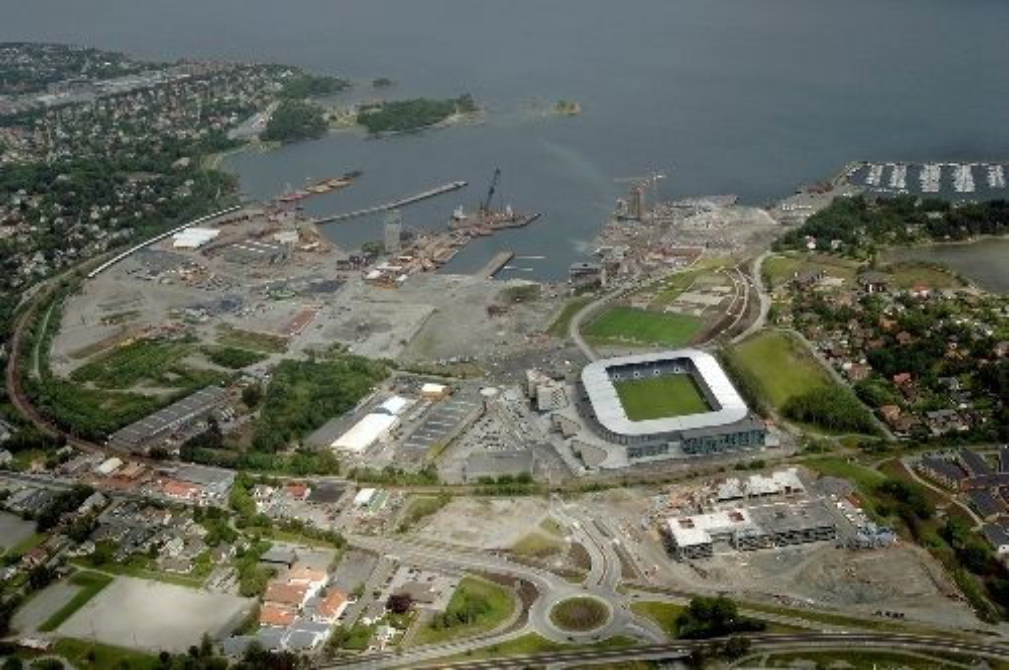 TS Stangeland Maskin AS skal blant annet bygge ny stasjon ved Jåttå, like ved Vikings hjemmebane.