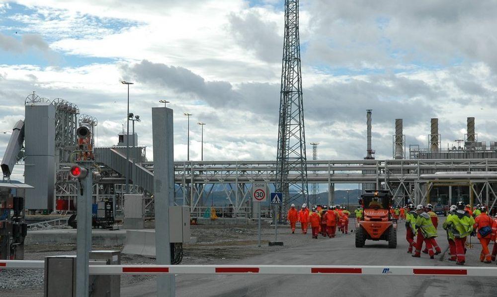 ØKT ETTERSPØRSEL: Mange prosjekter i Nordsjøen pluss en utvidelse av Snøhvit på Melkøya, vil medføre mangel på teknisk kompetanse innen to til tre år.