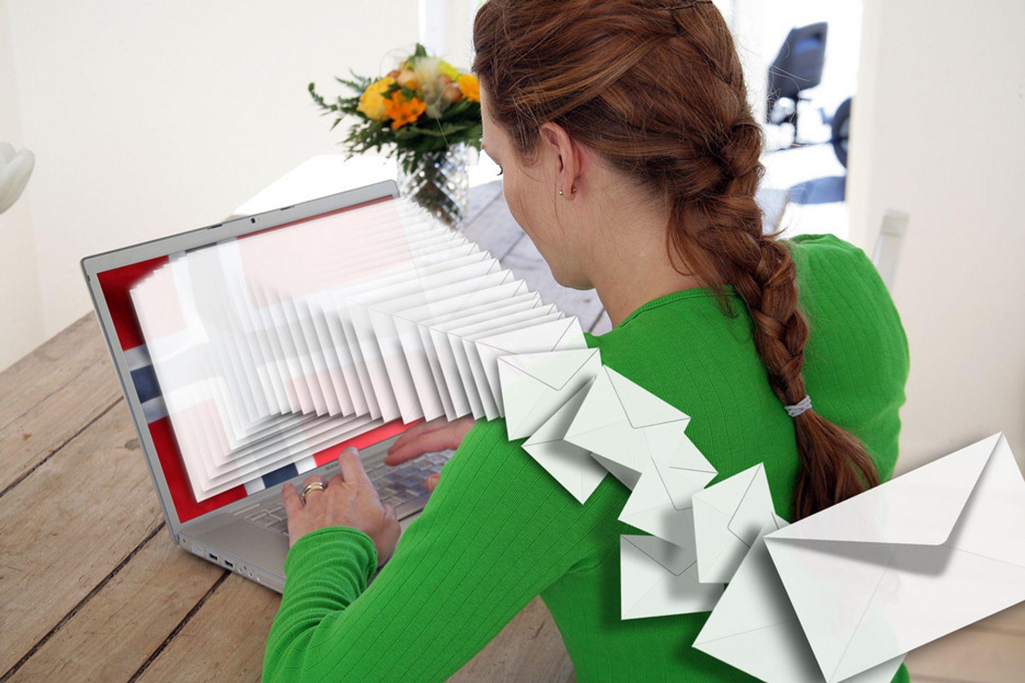 Angrep. Flybilletter i e-postvedlegget kan være starten på et dataangrep.