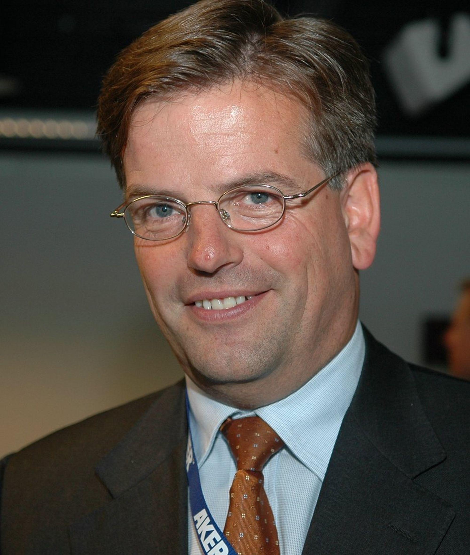 KAN GLISE: Konsrnsjef i Aker Kværner Martinus Brandal er ikke bare en av ledets best betalte industriledere, han kan også vise til rekordresultater teknologibedriften.