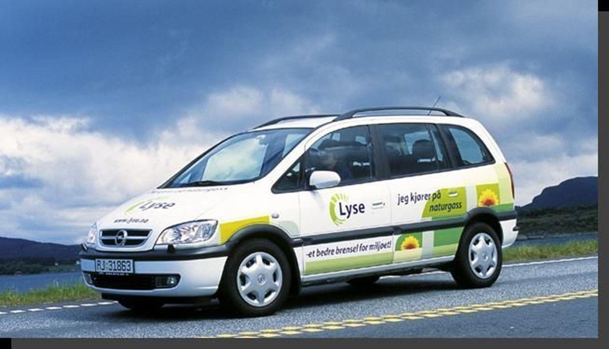 GASSBIL: Lyse Gass mener regjeringen bør gi avgiftslette på biler som bruker naturgass som drivstoff.