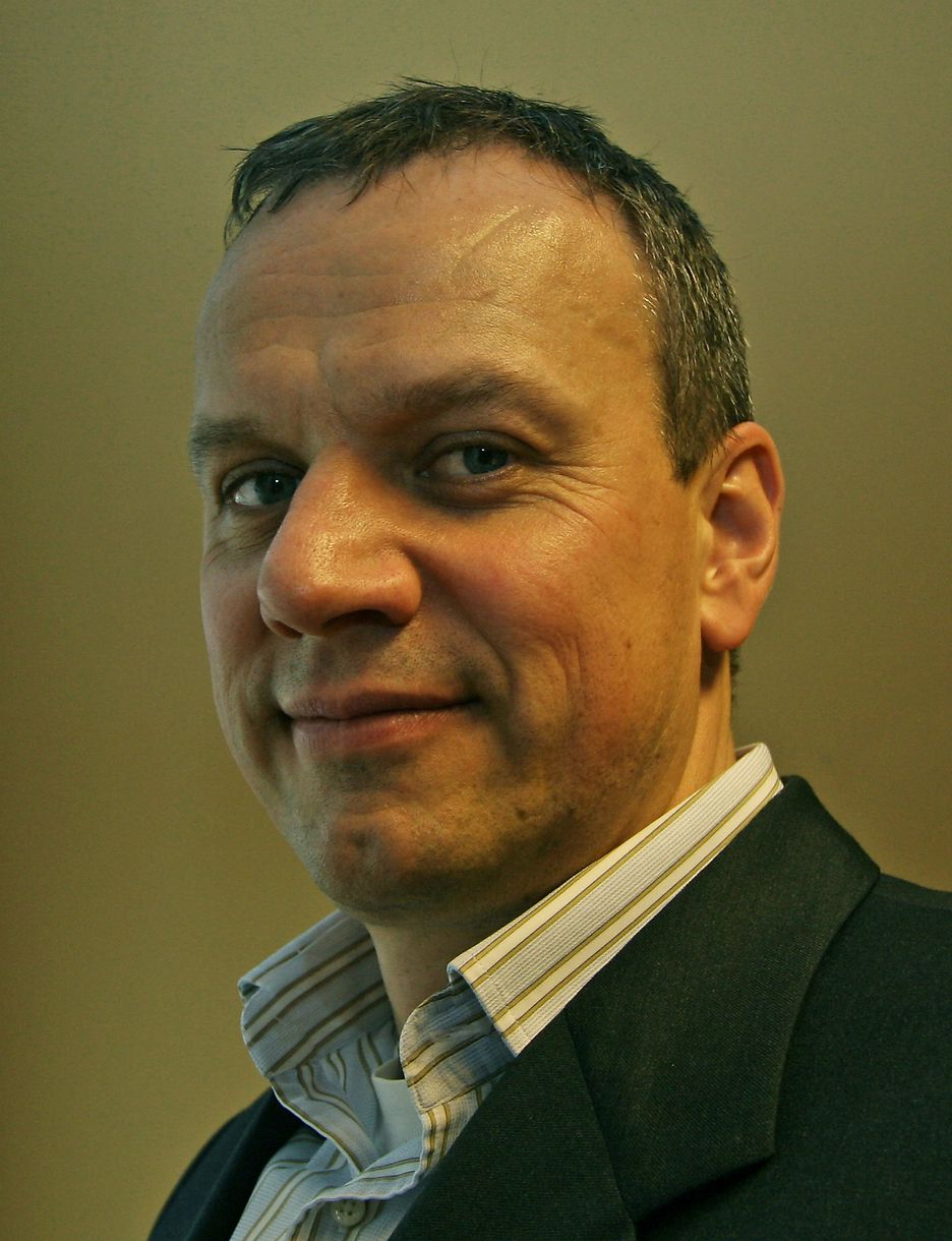 ENSPORET: - Full fokus på sikkerhet og ikke noe annet er det som skal til, mener sjefen i Check Point, Leif Sundsbø