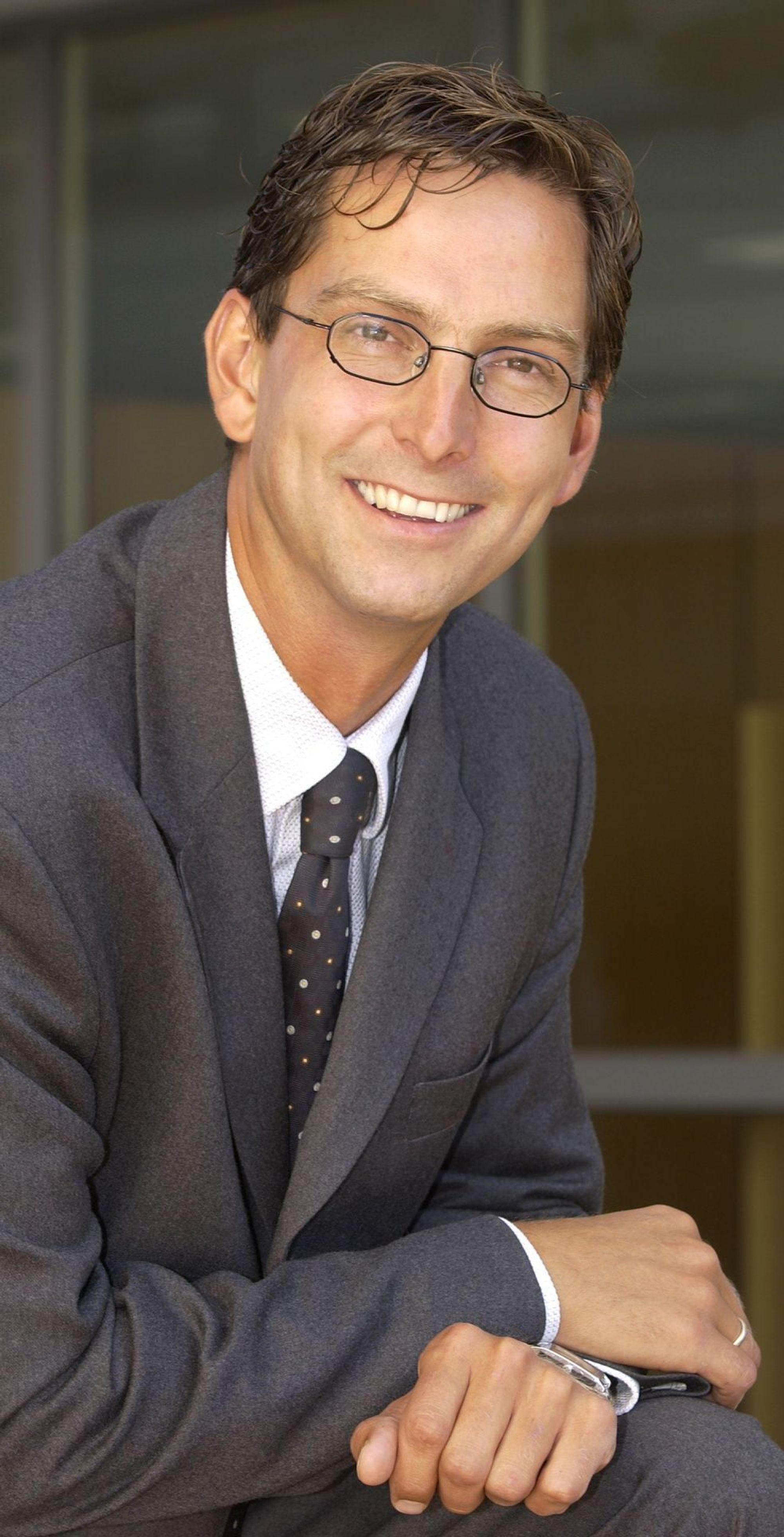 RETT VEST: Administrerende direktør Michael Jacobs i Dell Norge har inngått en omfattende rammeavtale med Helse Vest. FOTO: DELL