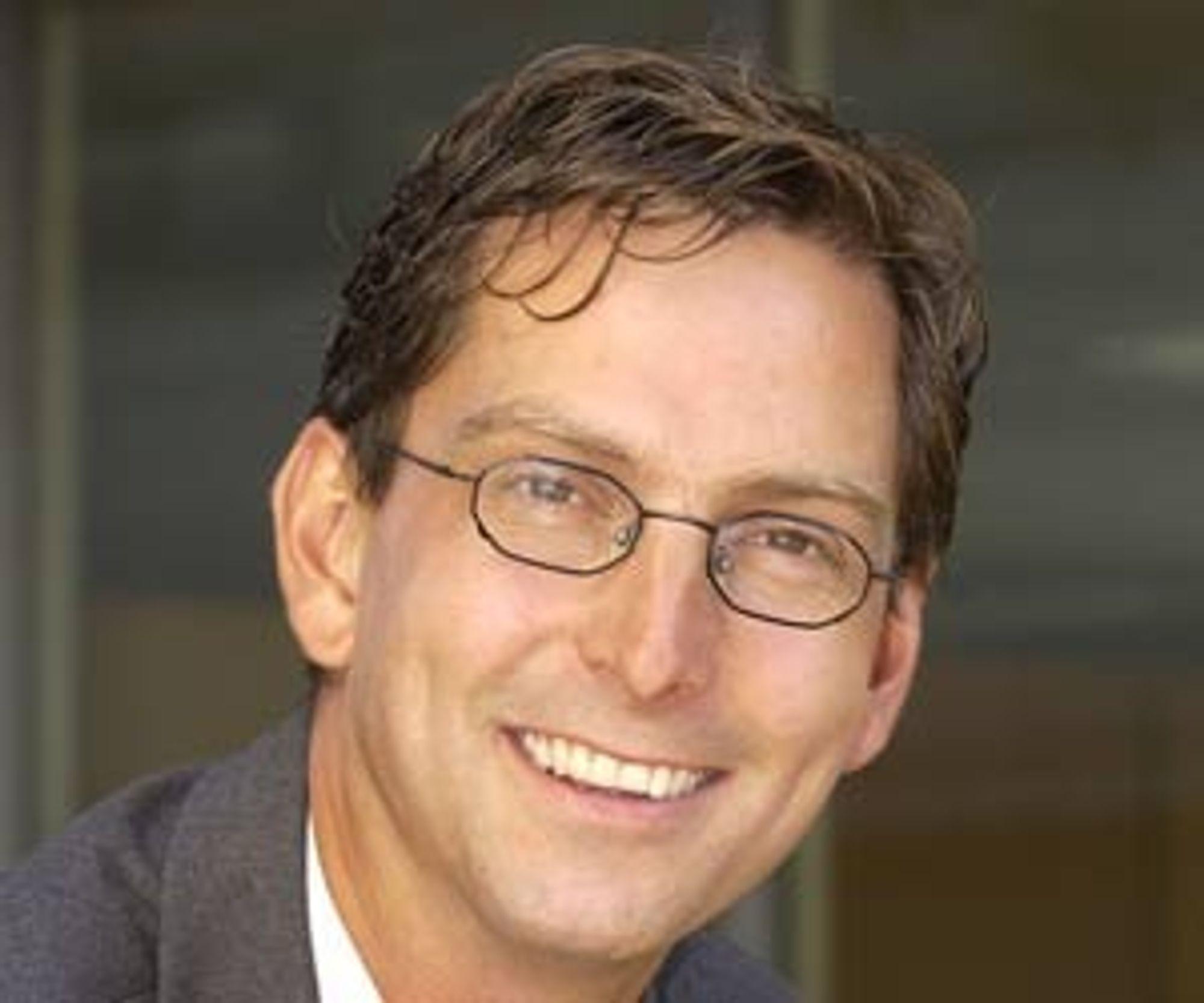 RETT VEST: Administrerende direktør Michael Jacobs i Dell Norge har inngått en omfattende rammeavtale med Helse Vest.