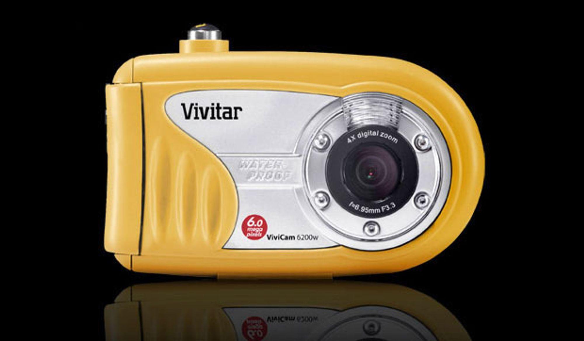 Vivitar Vivicam 6200w. Digitalt kamera til undervannsbruk. Vanntett ned til ti meter.