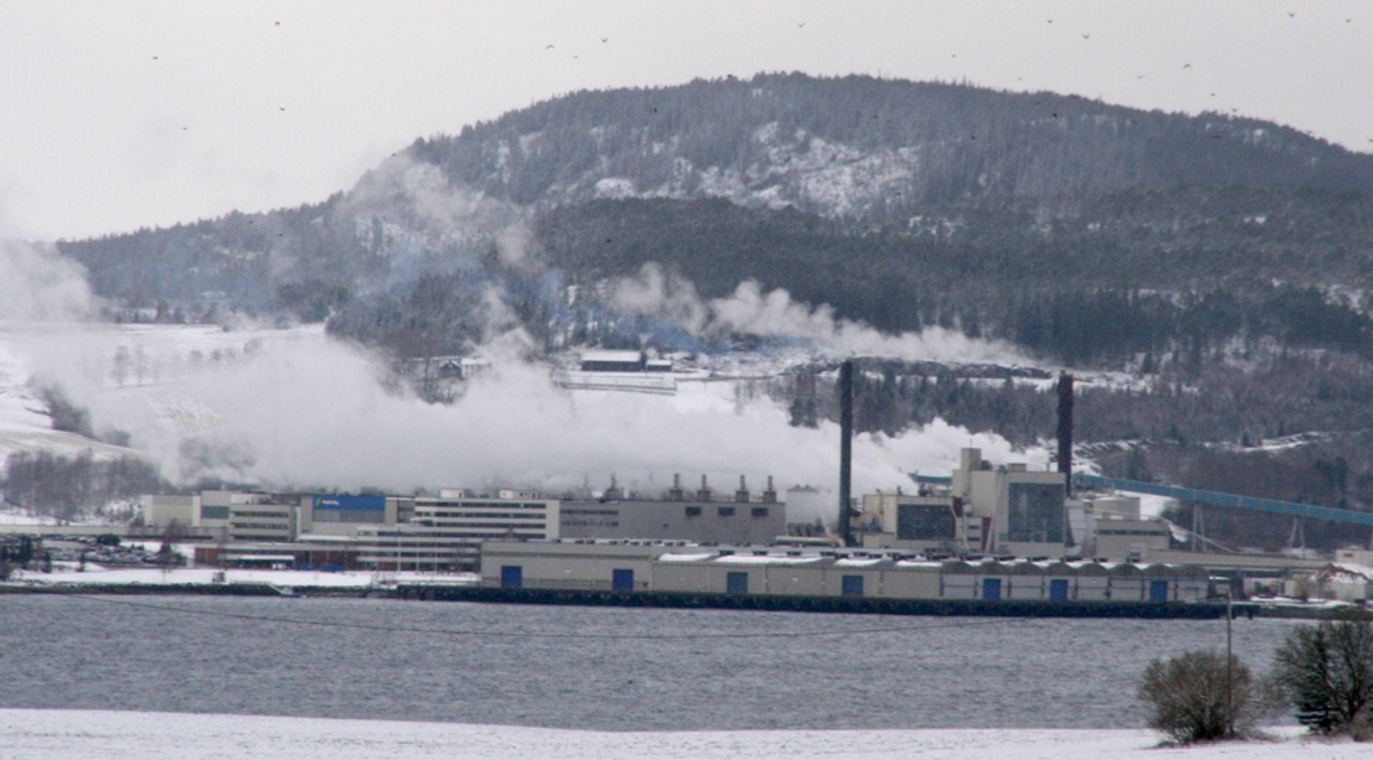 STORAKSJONÆR: Norske Skog kjøper seg opp i Industrikraft Midt-Norge (IMN). IMN bygger kraftvarmeverket på Skogn.