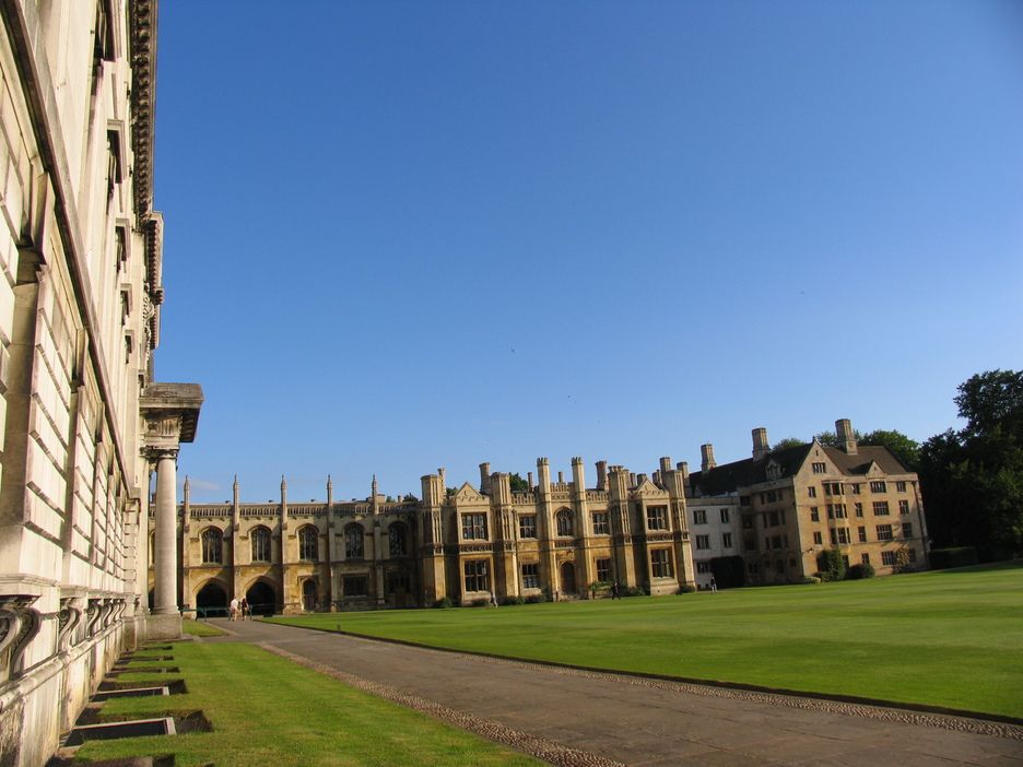 Cambridge University campus