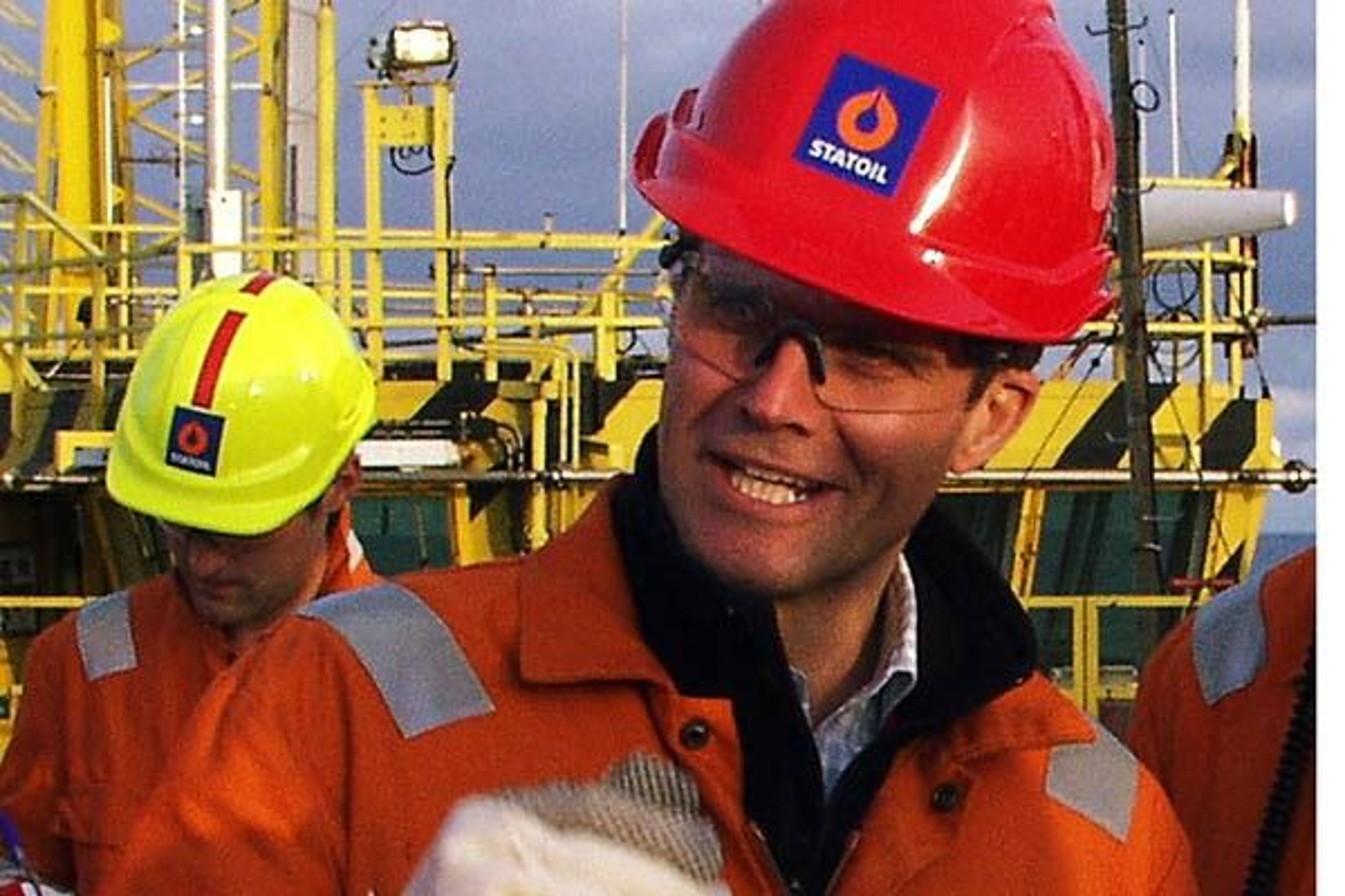 StatoilHydro-sjef Helge Lund kan juble over Shtokman-andel på 24 prosent.