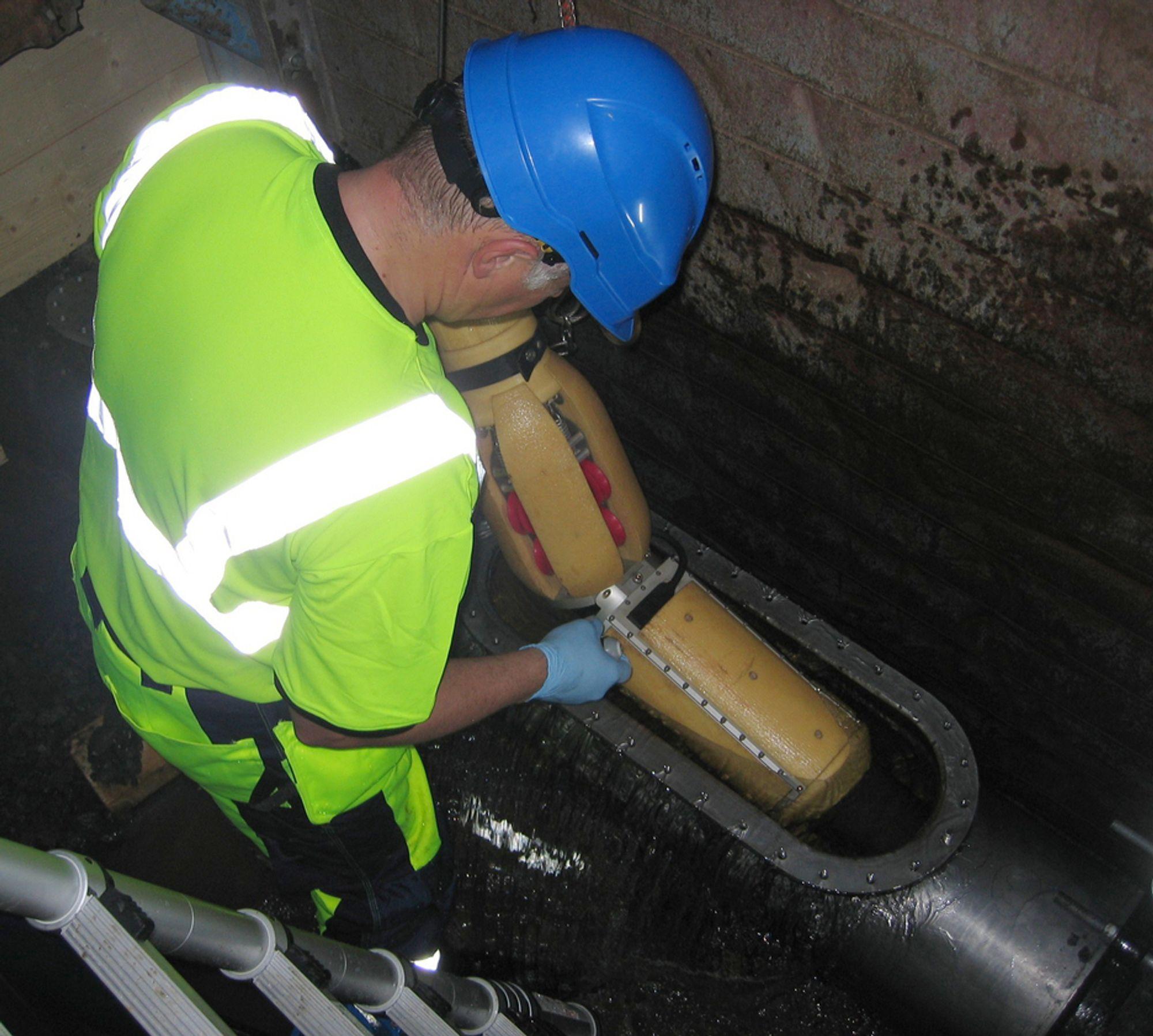 Breivoll Inspection Technologies kan ikke inspisere vannrør i denne kulden, og har derfor permittert alle sine ansatte.