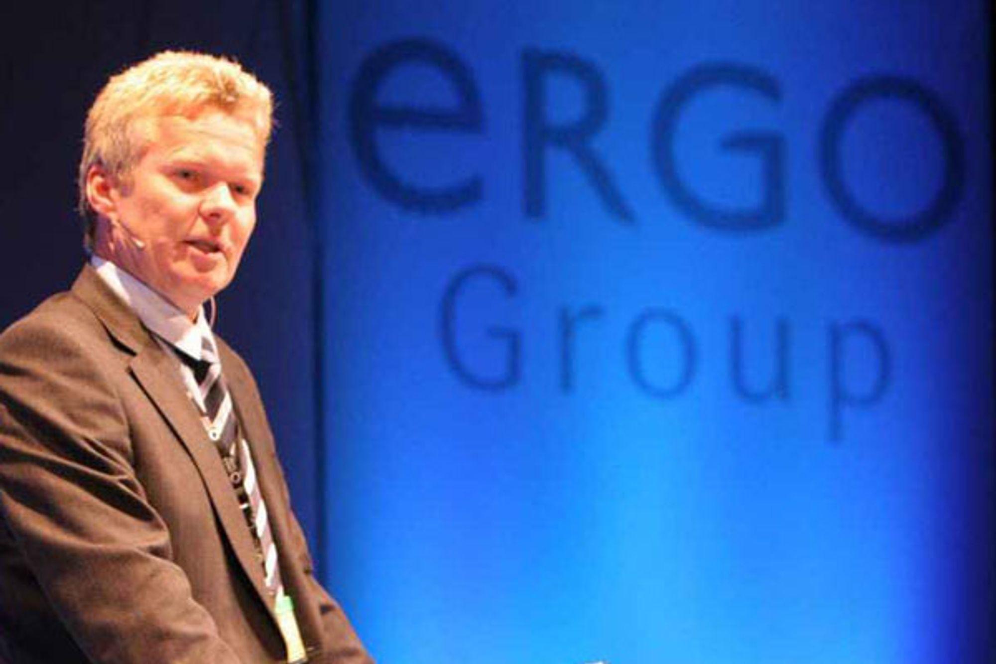 SULTEN PÅ MER: ErgoGroup-sjef Terje Mjøs er ikke fornøyd med å eie 75 prosent av aksjene i BEKK Consulting. Nå vil han eie mer.