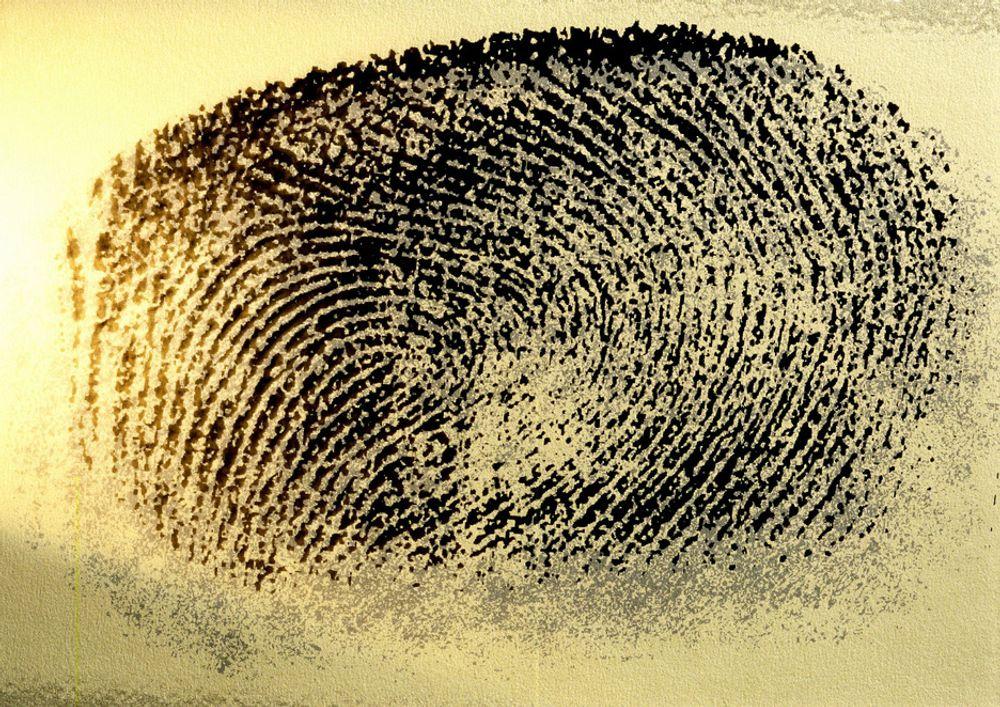 Fingeravtrykk gir hodebry