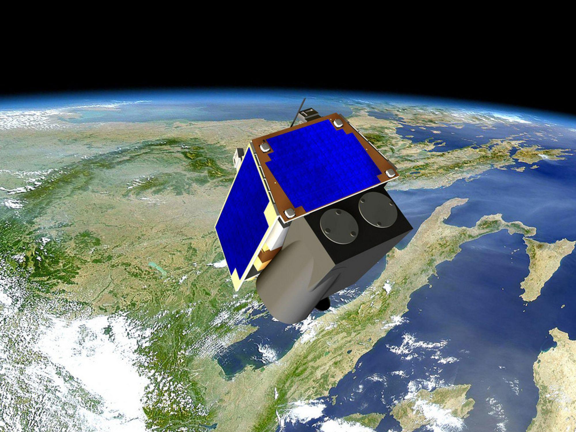 Britiske forskere har krympet viktig teknologi og dermed kan  satellittene bygges mye mindre og lettere.