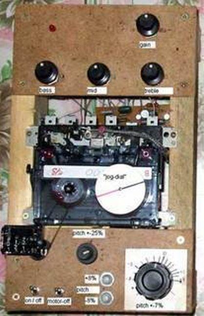 NOSTALGI: Mannen bak kassettmiksepulten får ære og berømmelse for sin nostalgiske oppfinnelse. Foto: http://soundresearch.narod.ru